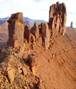 Rock Climbing Photo: Sister Superior from the summit of either Baby Sis...