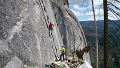 Rock Climbing Photo: Beautiful panoramic shot highlights the west side ...