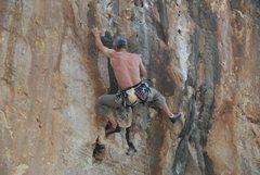Rock Climbing Photo: at the beach of Cala Luna