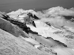 Rock Climbing Photo: Mt. Baker. View of the Roman Nose from the North R...