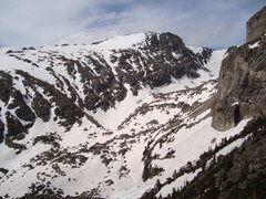 Rock Climbing Photo: North Face of Otis Peak. 5/31/09