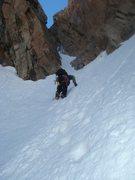 Rock Climbing Photo: Dave heading up Martha's