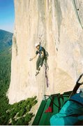 "Rock Climbing Photo: jugging back to high point on ""shortest straw..."