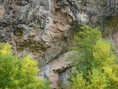 Rock Climbing Photo: Danny Robertson on Achilles.