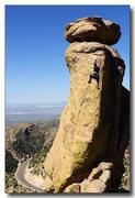 Rock Climbing Photo: Amara on Golden Egg