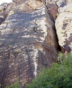 Rock Climbing Photo: Higher on Improbable Prose