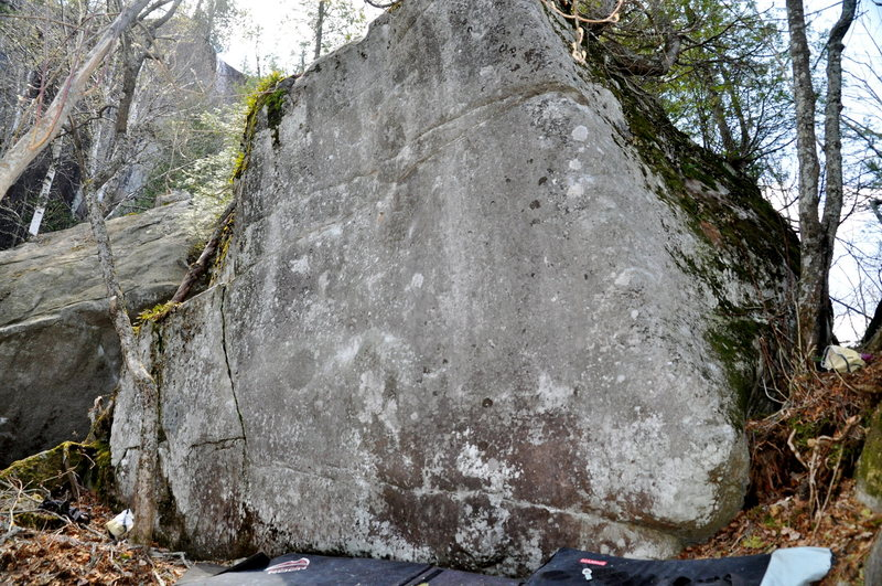 the Absolution boulder