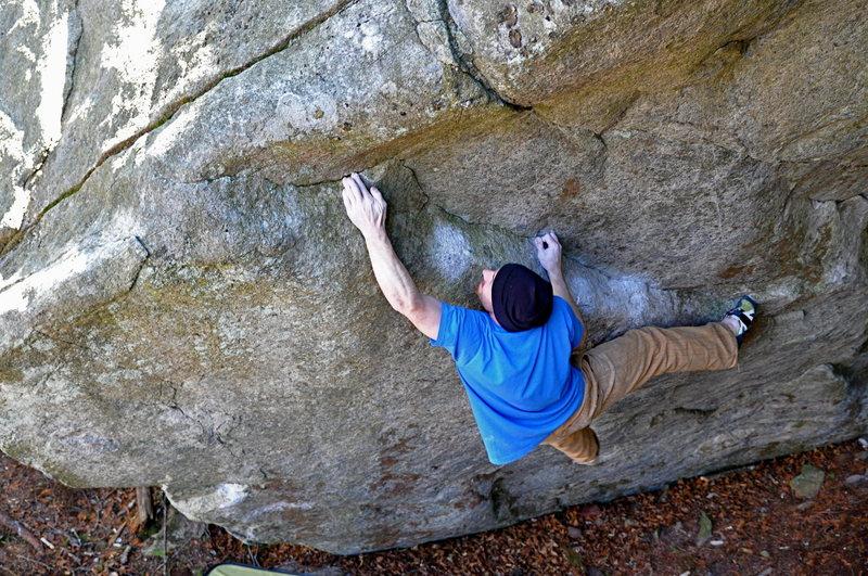 Jim Merli working the Amateur