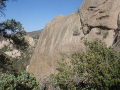 Rock Climbing Photo: Purgatory wall from the VD wall descent.