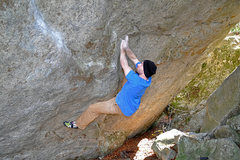 Rock Climbing Photo: a little further along