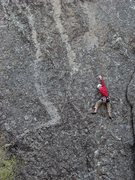 Rock Climbing Photo: Why did I not refill my chalk bag?  Mr. Critical, ...