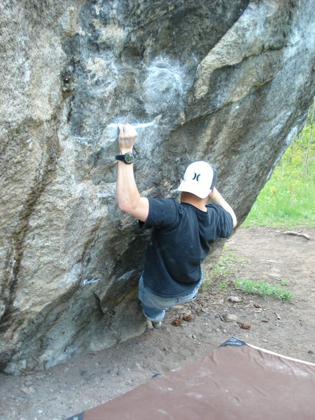 Rock Climbing Photo: Scarface....