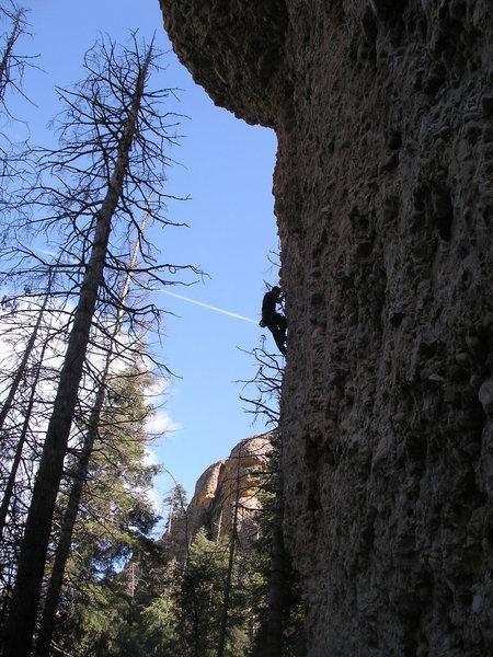 Rock Climbing Photo: a beautiful day to climb