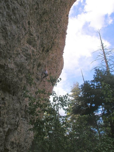 Rock Climbing Photo: midway up zoaster toaster