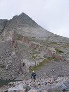 Rock Climbing Photo: After climbing the Middle/Center Route on Wham Rid...