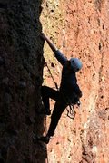 Rock Climbing Photo: Climbing at El Rito, NM