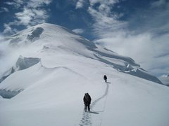Rock Climbing Photo: Around 10,000ft on the N. Ridge