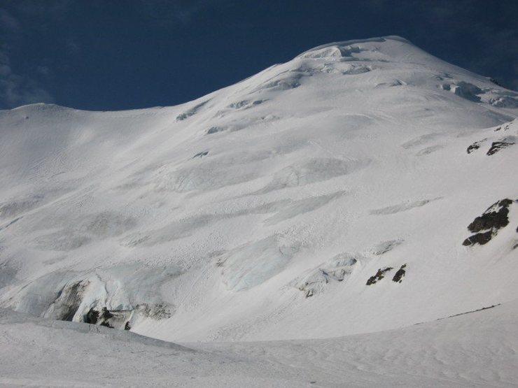 Rock Climbing Photo: The NE face of Scott Peak.