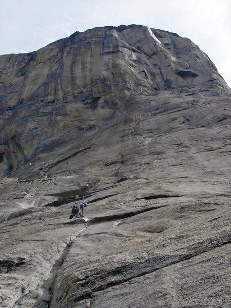 Rock Climbing Photo: Greg Jackson, pitch 5