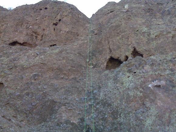 Rock Climbing Photo: Rain of Terror