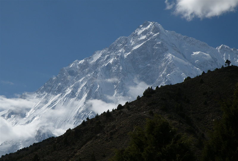 Rupal Face as seen from Rupal Gah