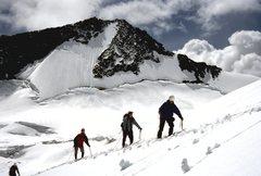 Rock Climbing Photo: Toby Creek glacier