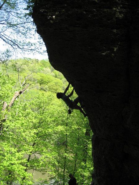 Rock Climbing Photo: Dobbe on onsight