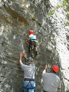 Rock Climbing Photo: Becca