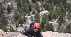 Rock Climbing Photo: Following 3rd pitch of Mainliner
