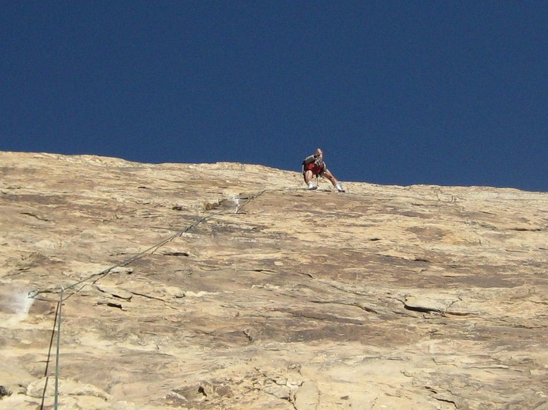 Rock Climbing Photo: Paul on first pitch