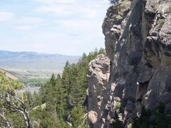 Rock Climbing Photo: left side of main crag