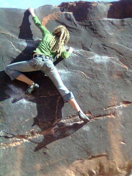 Rock Climbing Photo: Big Bend Boulders in Moab!