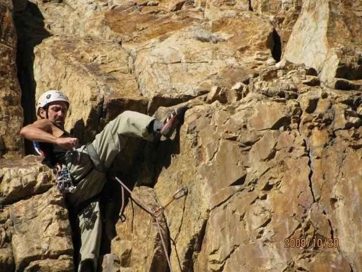 Rock Climbing Photo: jeff