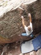 Rock Climbing Photo: Feeling the burn.