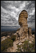 Rock Climbing Photo: Hitchcock Pinnacle, the North Face (.7) is on the ...
