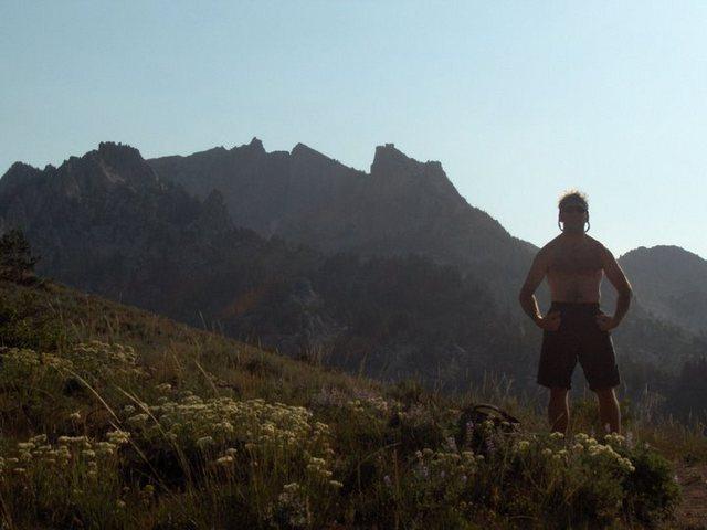 William Baker hikes to Lone Peak via draper ridge trail, always, stud!