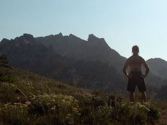 Rock Climbing Photo: William Baker hikes to Lone Peak via draper ridge ...