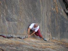 Rock Climbing Photo: Blimp
