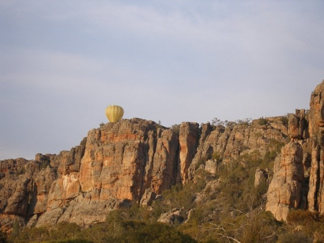 Balloon over Muldoon