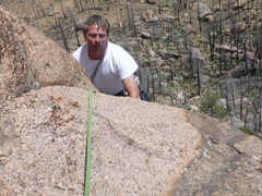 "Rock Climbing Photo: Mark, not so Lost in Space on ""Lost in Space&..."