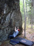 Rock Climbing Photo: Sean Gwaltney on Finger on the Trigger 3rd ascent
