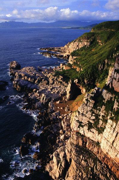 Rock Climbing Photo: View of Long Dong, Taiwan looking south.