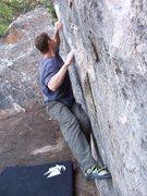 Rock Climbing Photo: The Cheese Traverse.
