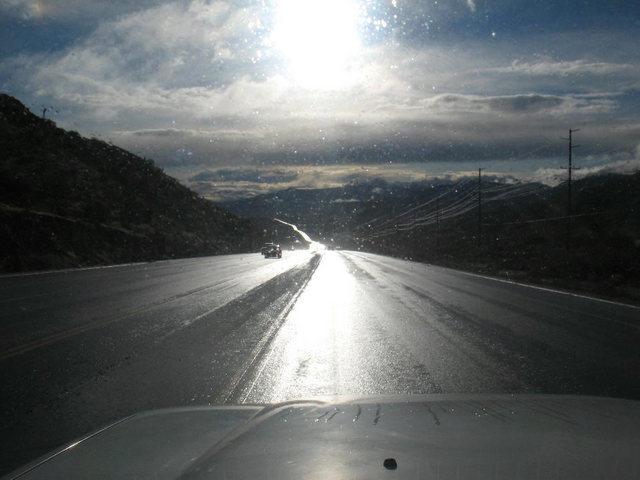 Rock Climbing Photo: Highway 62, Morongo Valley