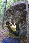 Rock Climbing Photo: A Steady Diet of Frostbite V6/7, Frostbite Boulder...