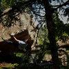 Luke Childers Climbing Prince Charles.  The Pass.  Three Sisters Park, Colorado.