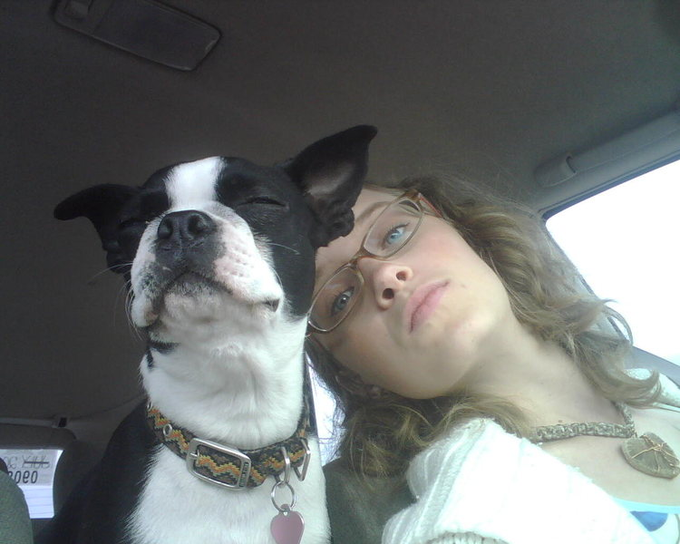 me and my puppy Mimsy