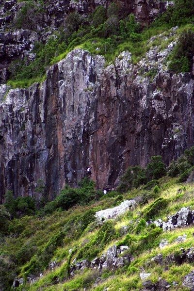 Rock Climbing Photo: Mokuleia Wall