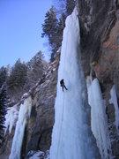 Rock Climbing Photo: Coming down the Fang in '04.