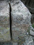 Rock Climbing Photo: The suspect bolt.